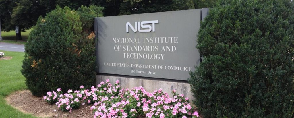 Front lawn of National Institute of Standards and Technology building
